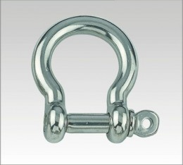 SS Bow Shackle, Screw Pin